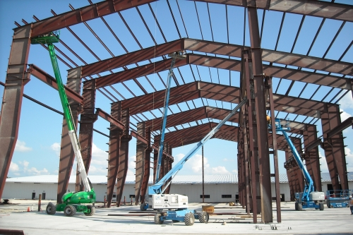 Built Wright Construction - Steel Construction Services