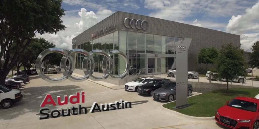 Built Wright Construction Audi Dealership Construction Austin, Texas