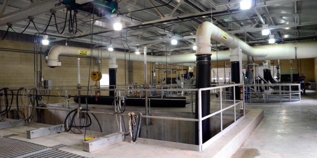 Built Wright Construction - Moore Waste Water Facility Construction