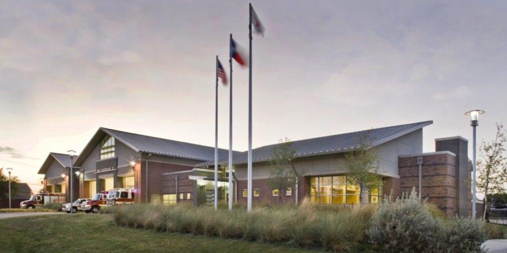 Built Wright Construction - Fire Department Construction - Plano, Texas