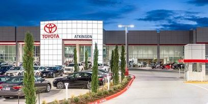 Built Wright Construction - Atkinson Toyota Dealership Construction