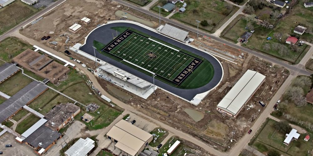 Built Wright Construction - Anahuac Panther Stadium Construction